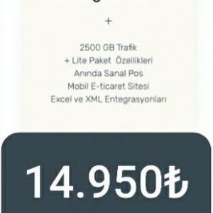 E-TİCARET WEB SİTESİ (Entegre paket)