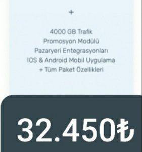 E-TİCARET WEB SİTESİ (Platinium paket)